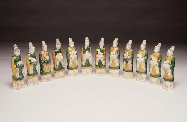 set of 12 Zodiac FiguresYuan dynasty
