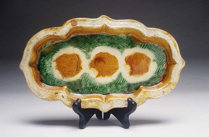 Quatrefoil Dish Liao dynasty
