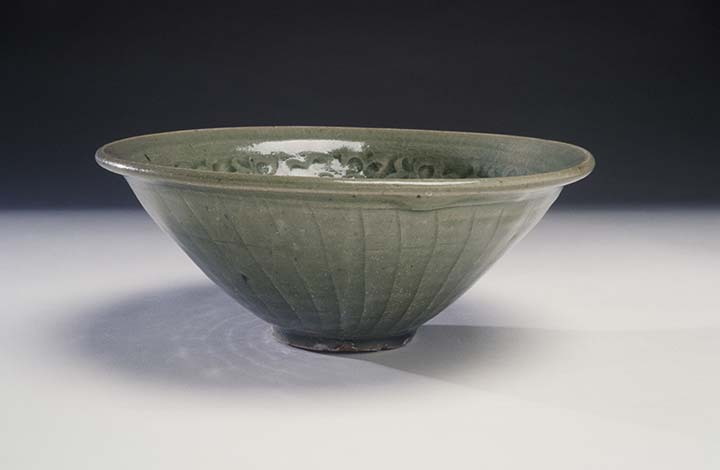 Bowl with Molded Design Northern Song dynasty