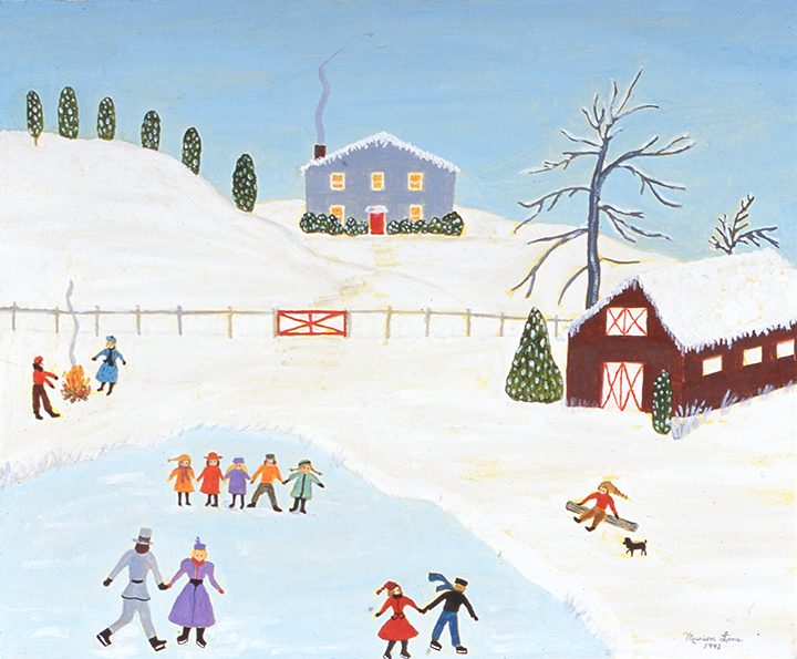 The Joy of Winter, 1993 - Marion Forgey Line ©LCVA