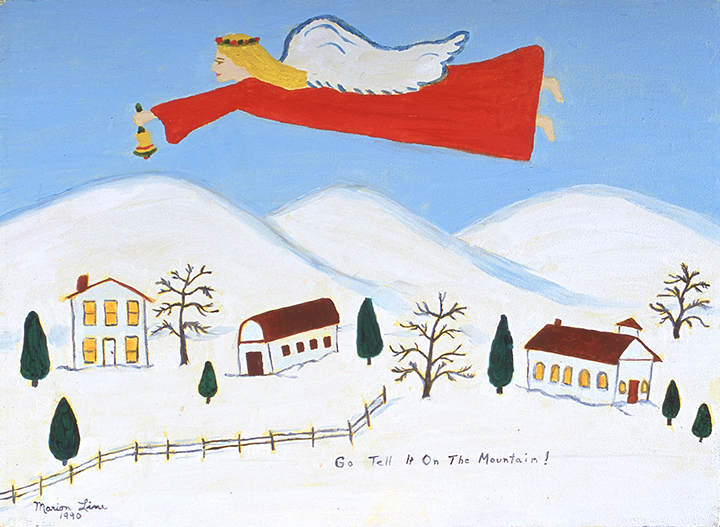 Go Tell it on the Mountain, 1990 - Marion Forgey Line ©LCVA
