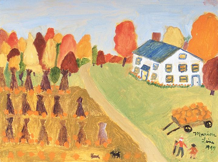 MARION FORGEY LINE - Harvest Time, 1994