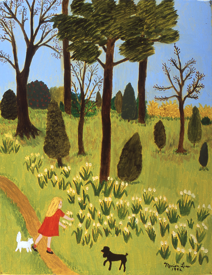 Springtime, 1992 - Marion Forgey Line ©LCVA