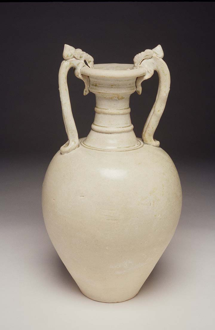 Amphora with Two Dragon-Shape Handles Tang dynasty