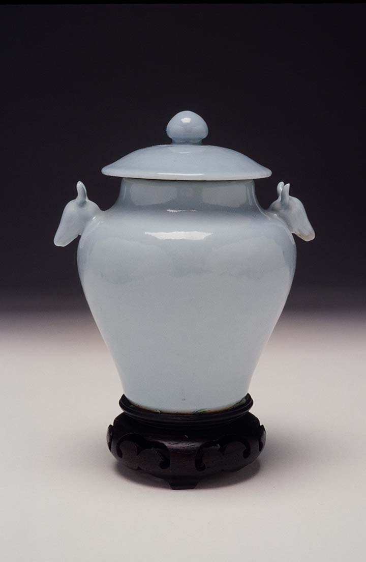 Sacrificial Jar in the Shape of an Archaic Zun  Qing dynasty
