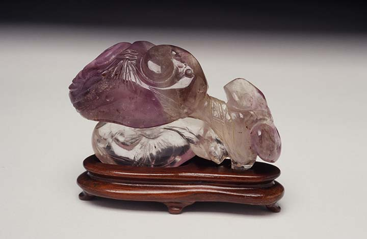 Brush Rest in the Form of Lingzhi Fungus Qing dynasty