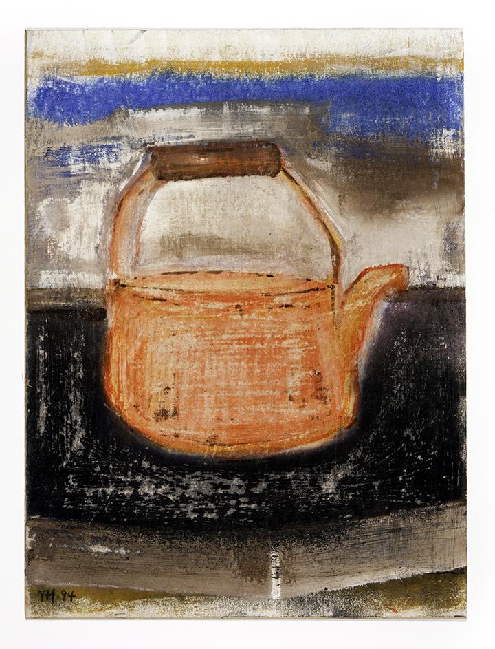 TOM HARTE  Untitled (Orange Teakettle)