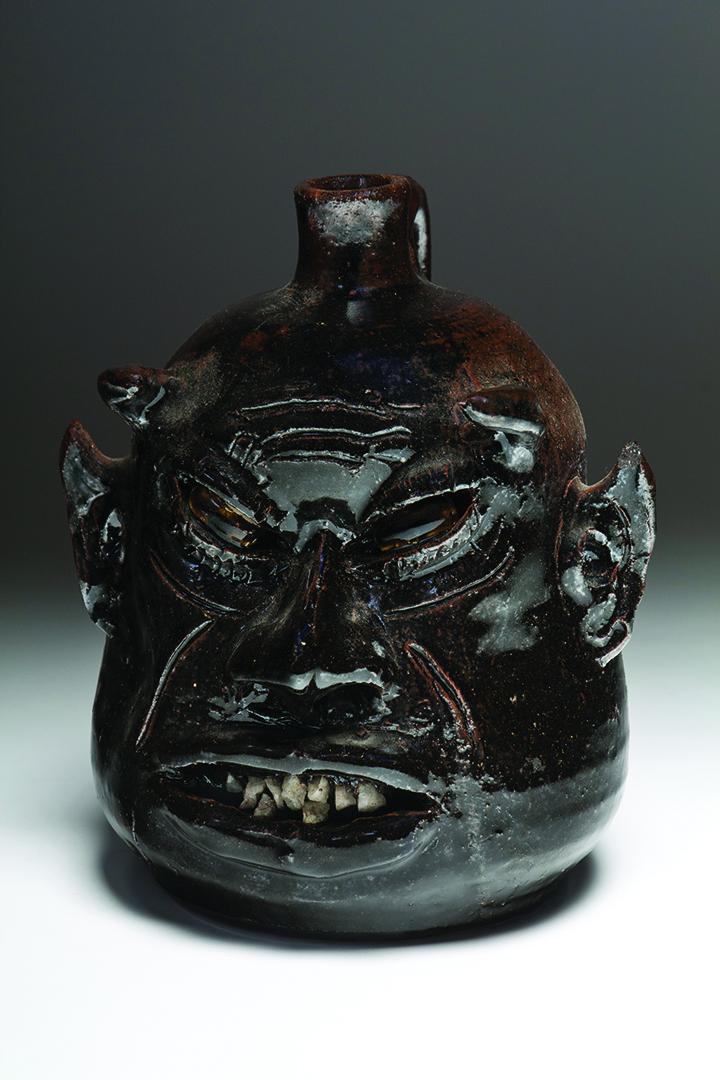 LANIER MEADERS  Devil Face Jug