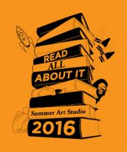 READ ALL ABOUT IT, 2016 Summer Art Studio at Longwood Center for the Visual Arts (LCVA)