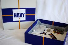 """Caitlin Foster, """"In the Navy: A Game for those Back Home"""""""