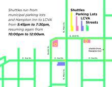 Gala Parking Map
