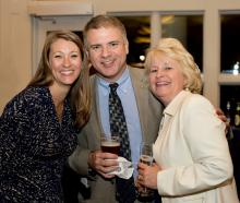 Longwood University Real Estate Foundation: Louise Waller, Ken Copeland, and Debbie Epperson