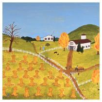 Pumpkin Time, 1985  - Marion Forgey Line ©LCVA