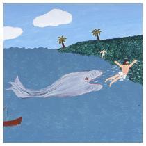 Jonah's Regurgitation, 1987 - Marion Forgey Line ©LCVA