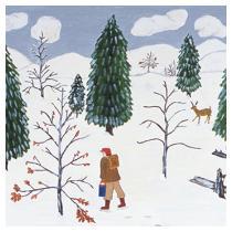 Shenandoah Winter, 1987 - Marion Forgey Line ©LCVA