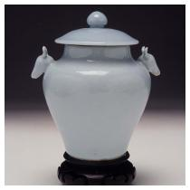 Sacrificial Jar in the Shape of an Archaic Zun  Qing dynasty