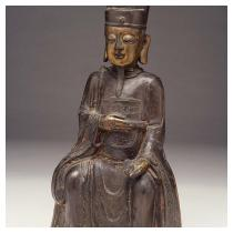 Wenchang Dijun, the God of Literature  Ming dynasty