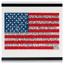 HOWARD FINSTER  The Flag Is More Than a Piece of Cloth #15,772