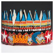 JAMES HAROLD JENNINGS  Crown with Blue Pinnacles