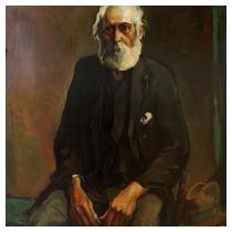 ALEXANDER OSCAR LEVY (American, 1881-1947) Old Ben, 192