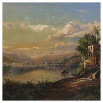 EDMUND DARCH LEWIS (Pennsylvania, 1835-1910) Santiago de Cuba, 1875