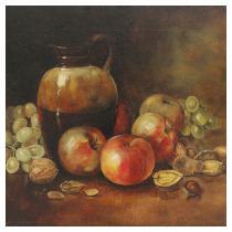 L.A. DYER   Still Life of Apples